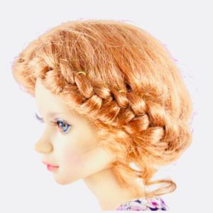 natural wig for doll